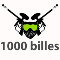 1000 billes Paintball extérieur