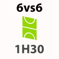 Foot 6vs6 - 1h30