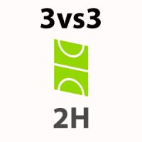 Foot 3vs3 - 2h