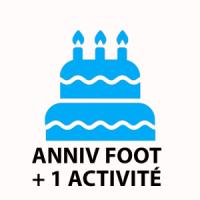 Pack anniv' foot + 1 activité au choix