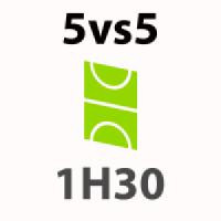 Foot 5vs5 extérieur - 1h30