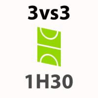Foot 3vs3 - 1h30
